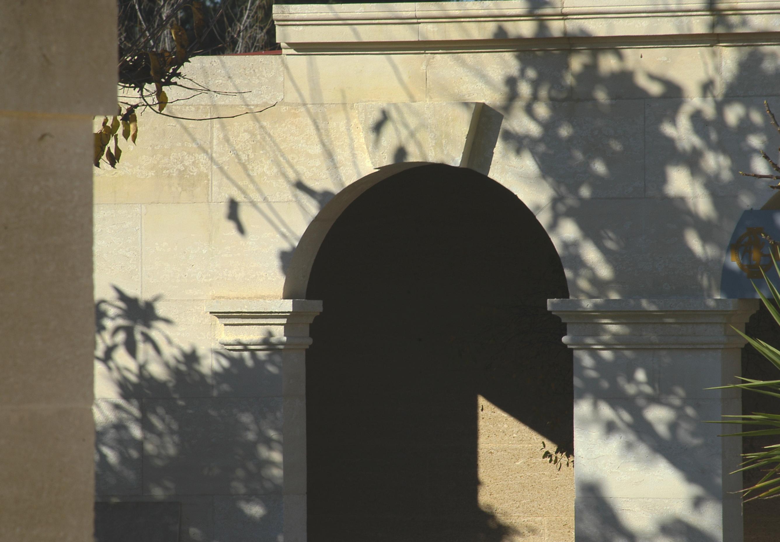 Facade of an Orangerie style XVIII